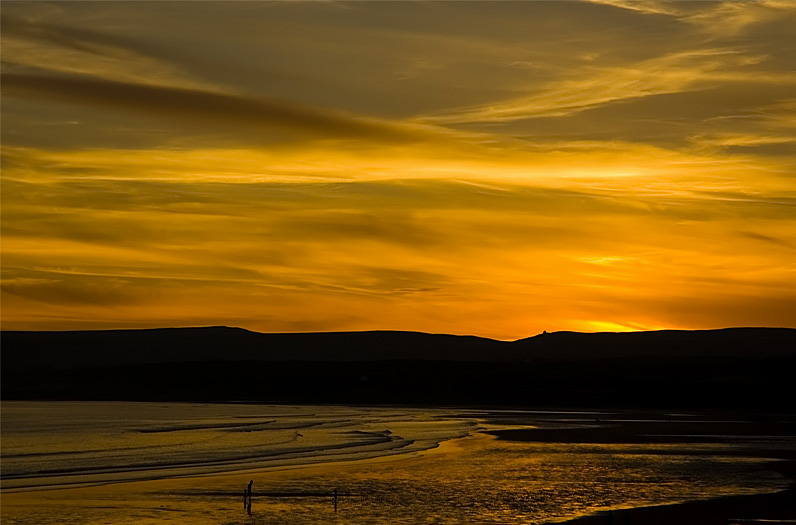 Sunset in Lahinch/Ireland || Sonnenuntergang in Lahinch/Irland